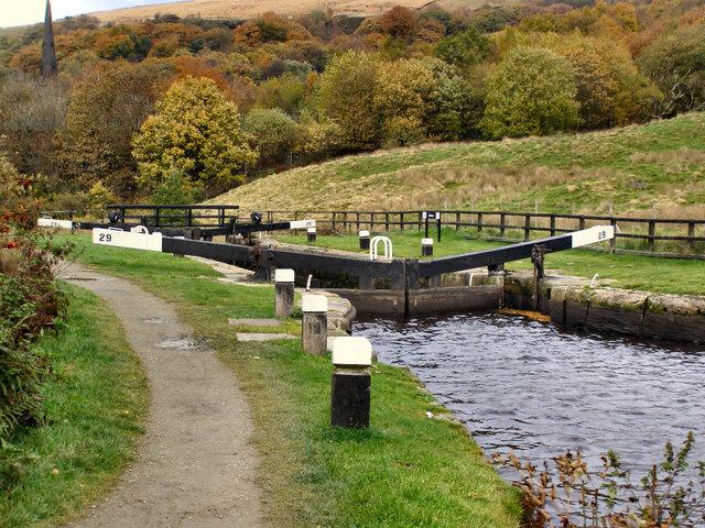 Rochdale Canal, Nip Square Lock.