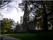 TQ1450 : St Barnabas' church at Ranmore on Ranmore Common Road by Shazz