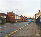 SJ9495 : Manchester Road by Gerald England