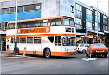 SD7807 : Blackburn Street/Church Street Junction (1982) by David Dixon