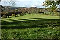 SO5407 : Farmland at Coxbury Farm by Philip Halling