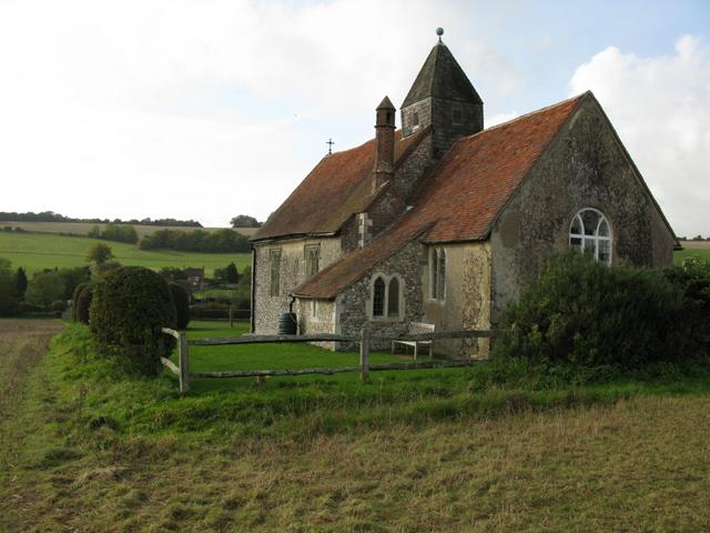 St Hubert's church, Idsworth