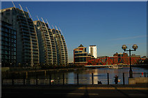 SJ8097 : Salford Quays by Christopher Hilton