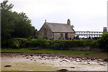 SH5571 : St Tysilio's Church on Church Island by Steve Daniels