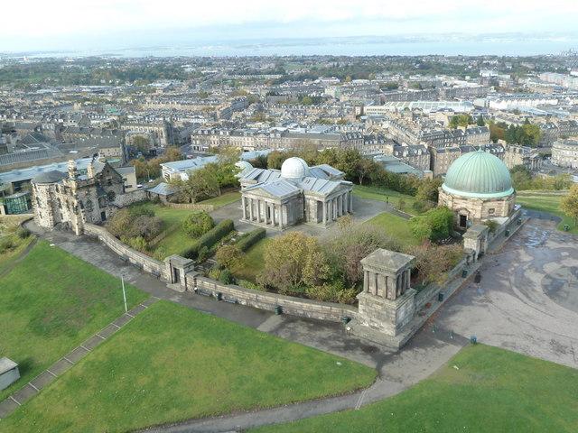 City observatory, Calton Hill, Edinburgh