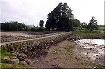 SH5571 : Causeway to Church Island by Steve Daniels