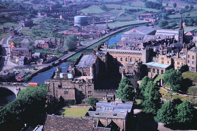 University College (Castle) of Durham 1957