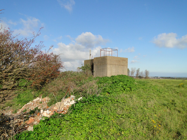Large pillbox and lookout point at Benacre
