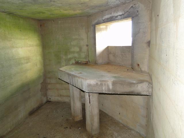 SE embrasure of a pillbox at Benacre
