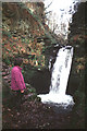 NY5342 : Waterfall, Nunnery Walks by Karl and Ali