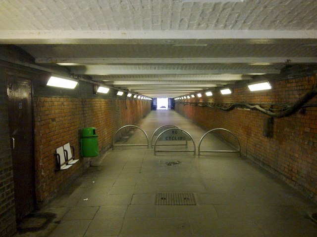 Subway from the former railway works, Swindon