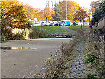 SD7807 : Bury & Bolton Canal, Water Street by David Dixon