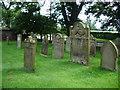 NY3745 : All Saints Church, Raughton Head, Graveyard by Alexander P Kapp