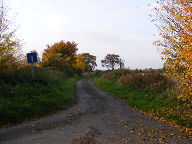 The entrance to Hill Farm