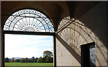 SJ5409 : Stable Block entrance, Attingham Hall by Dave Croker