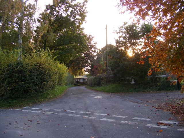 Road Off Chapel Road, Rendham