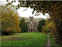 SK2957 : St Mary's Church Cromford by Nikki Mahadevan