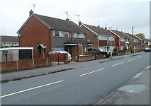 ST3487 : Greenmeadow Road, Newport by Jaggery