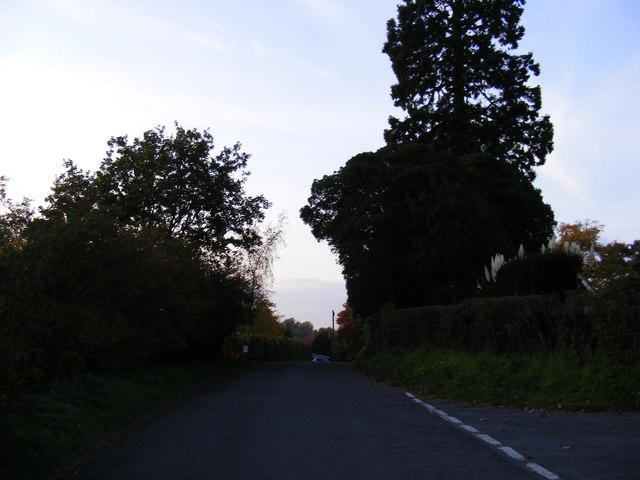 Bruisyard  Road, Rendham
