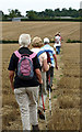 SP9850 : Bedfordshire Walking Festival. by Dennis simpson