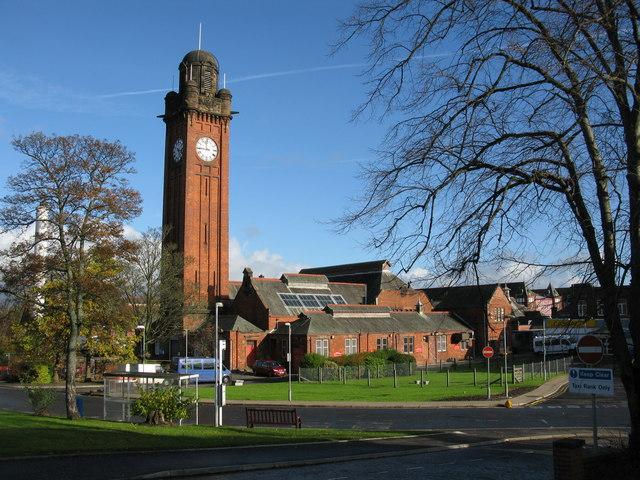 Stobhill Hospital - Clock Tower