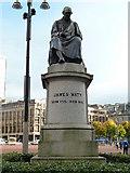 NS5965 : James Watt statue by Chris Allen