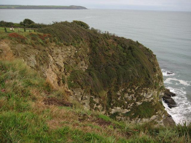 Headland below Carlyon Bay Hotel