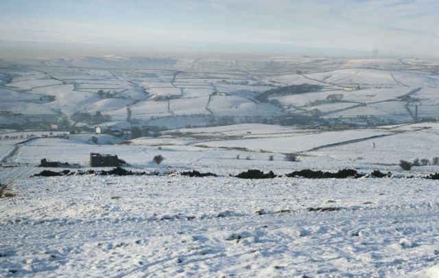 Hoyle Dean and Lumb in snow