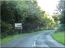 NX0054 : Approaching the junction of the A77 and the B738 by Ann Cook
