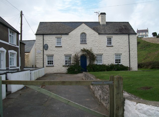 The former Post Office at Aberdaron