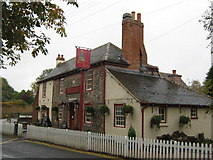 TR2647 : Bell Inn, Public House, Shepherdswell by David Anstiss