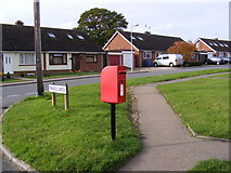 TM3876 : Dukes Drive & Dukes Drive Postbox by Adrian Cable