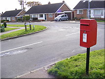 TM3876 : Princes Green & Dukes Drive Postbox by Adrian Cable