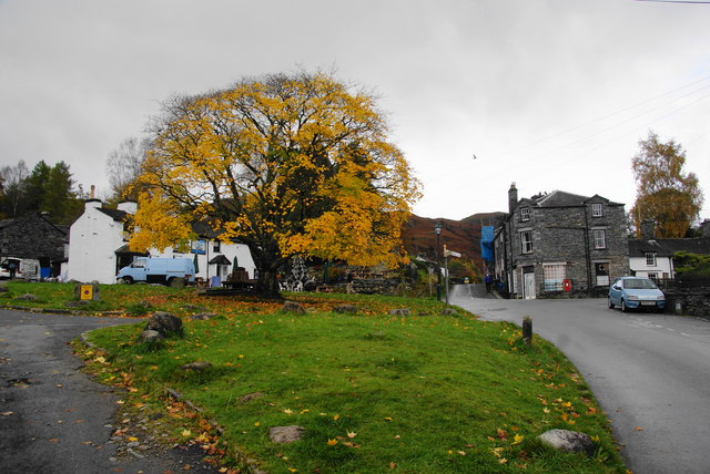 The village green, Elterwater