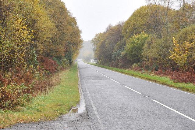 A828 near Barcaldine
