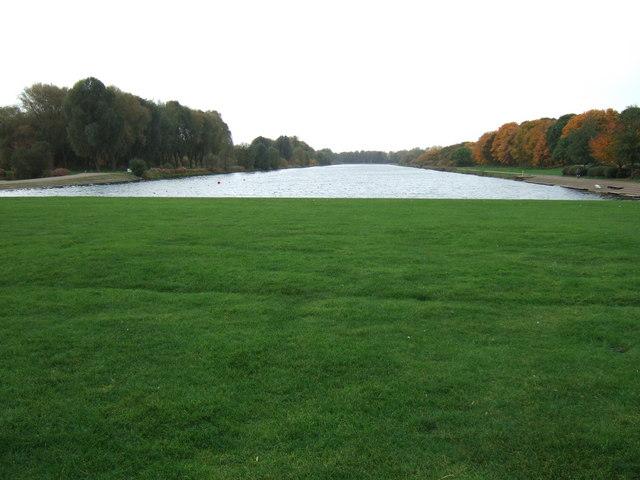 Peterborough rowing lake, Thorpe Meadows