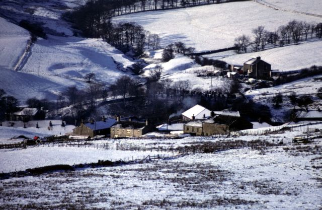 Hargreaves Fold in snow