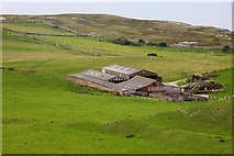 SH7683 : Parc farm buildings by Steve Daniels