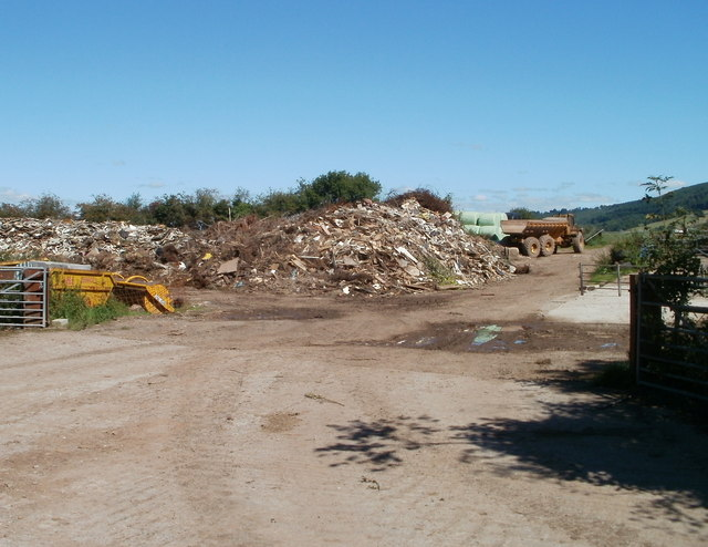 Waste dump adjacent to the Great House