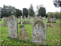SO3958 : Graveyard at St Mary the Virgin by Bill Nicholls