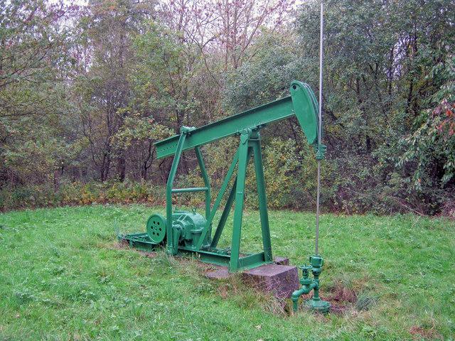 Oil well in Duke's Wood - 2