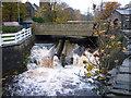 SE0411 : The road bridge on Church Lane, Marsden by Ian S