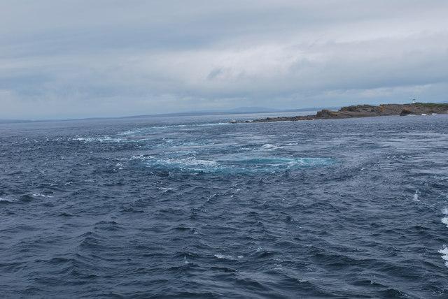 Island of Stroma whirlpool
