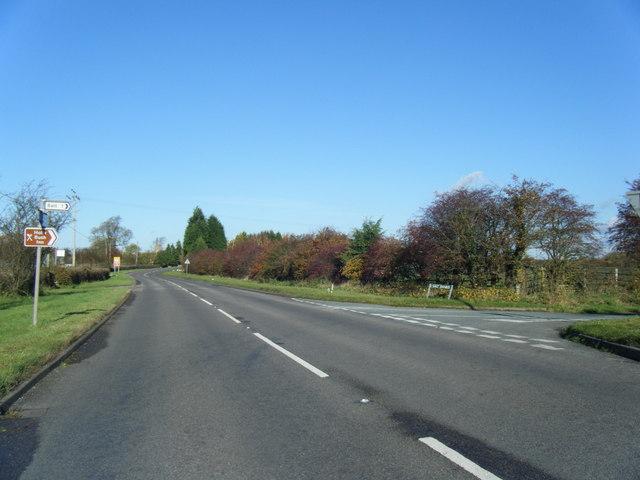 Sandon Road/Salt Banks junction