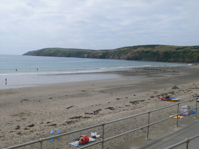 The beach at Aberdaron
