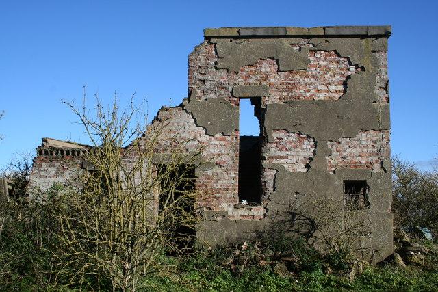 Ruined Control Tower RAF Metheringham