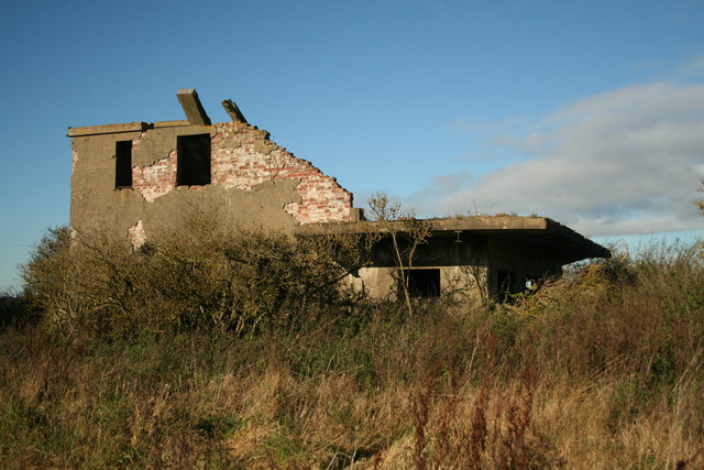 Ruined Control Tower RAF Metheringham
