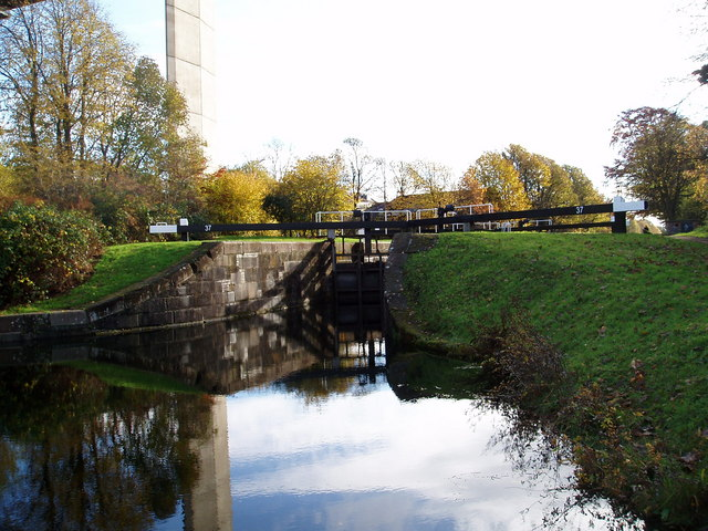 Lock 37 Forth and Clyde Canal