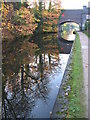 SP0585 : Reflections on the Worcester & Birmingham Canal by Gareth James