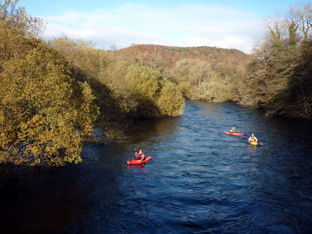 Canoeing the Leven